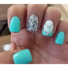 Andrea Dewald ❤ liked on Polyvore featuring nails