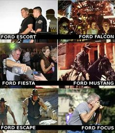 A comprehensive list of Fords