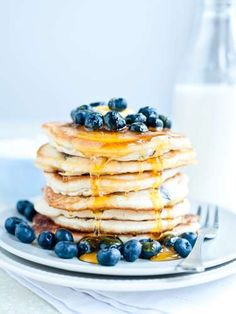 <p>Package extra pancakes and waffles as single servings in airtight plastic bags and freeze. When y... - Sarka Babicka/Getty
