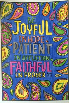 We are told to be joyful in hope (Rom. 12:12) but what do you put your hope in? Come along with spirituallyhungry.com as we explore how to place hope solely in Jesus. This is devotion is part of the Color Your Way Closer To God series, using coloring Scripture to become closer to God.