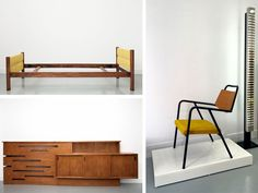 """Stores:   Galerie Bouvier - Le Ny: 50s furniture in Paris 