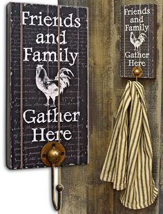 Friends & Family Rooster Hook - Kruenpeeper Creek Country Gifts