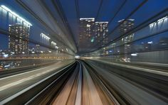 AppuruPai is the artist who took these photos of a trip with a train in Tokyo. High Speed Photography, Love Photography, Exposure Photography, Photography Tutorials, Tokyo Ville, Trains, Mind Blowing Pictures, Long Exposure Photos, Japanese Lifestyle