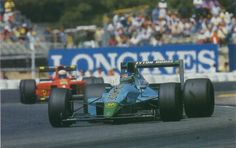 1990 GP Meksyku  (March) Leyton House CG901 - Judd (Ivan Capelli)