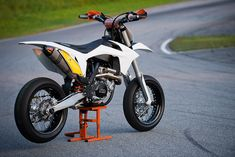 KTM smr 450 white