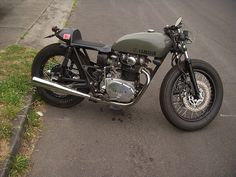Yamaha XS650, Firestone tires | Flickr - Photo Sharing!