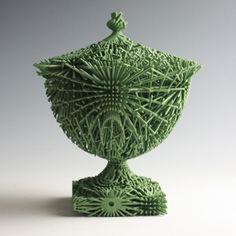 Green Bloom by Michael Eden Modern Contemporary, Modern Design, Sculpture Art, Sculptures, Dust Collector, The Potter's Wheel, Ceramic Art, Statues, Sculpting