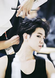 an old picture but it's too good not to post; he's breathtaking.  © rightful owner   — #baekhyun #exo
