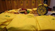 O sempre pontual relógio do Dortmund na visita ao recinto do Arsenal