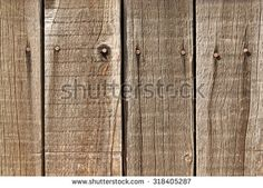 Old, nailed wooden wall for background