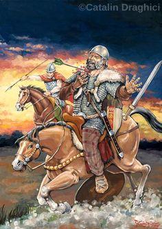 Tarabostele de la Singidava Ancient Art, Ancient History, Celtic Warriors, 1st Century, Iron Age, Armies, Roman Empire, Warfare, Knights