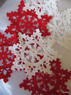 Christmas Decoration Crochet Snowflake Pattern