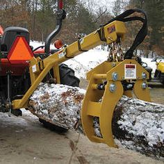 ttach this to your tractor or skid steer, and you'll be able to move logs without ever leaving your seat! The Kena Log Grapple lets you position. 3 Point Hitch Attachments, Tractor Attachments, Firewood Processor, Beams, Tractors, Logs, Chainsaw, Driftwood, Homesteading