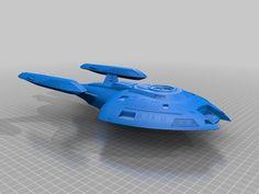 Star Trek - Voyager Nova Class Science Vessel by nd4spd1919 - Thingiverse