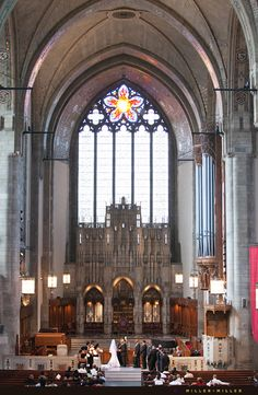 chicago rockefeller chapel wedding