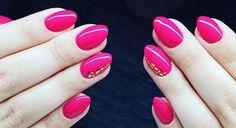 Think Pink! by Emilia Tokarz, Indigo Young Team #pink #think #nails #nail #indigo #nailart #wow #omg #spring #amazing