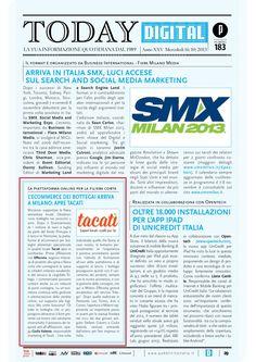 """L'ecommerce dei bottegai arriva a Milano: apre Tacatì"" - Today digital 16 ottobre 2013"