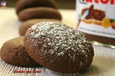 Biscotti alla nutella - ricetta golosa. Tutto ciò che contiene nutella è per me paradisiaco...se anche voi siete amanti della nutella