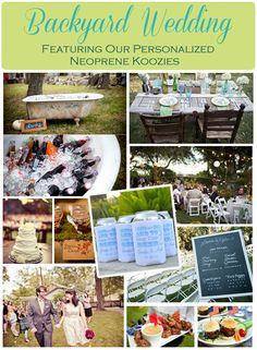 Rustic Back Yard Wedding Ideas | Backyard Wedding | Gracious Bridal Blog
