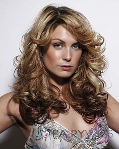 European Style Lace Front Medium Wavy Blonde Remy Hair Wig