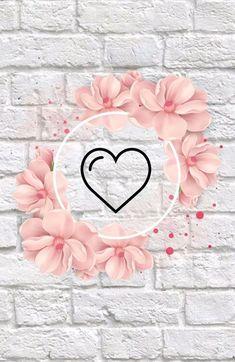 Phone Screen Wallpaper, Cute Wallpaper For Phone, Emoji Wallpaper, Heart Wallpaper, Cute Wallpaper Backgrounds, Love Wallpaper, Flower Backgrounds, Aesthetic Iphone Wallpaper, Cute Wallpapers