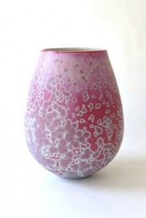 Porcelain Bowl - Purple by Ted Secombe