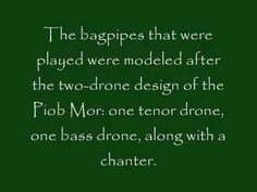 History of Irish Bagpipes - YouTube