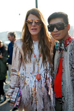 Anna Dello Russo // Paris Fashion Week