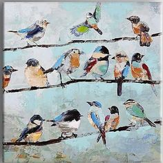 birds in a tree artwork - Google Search