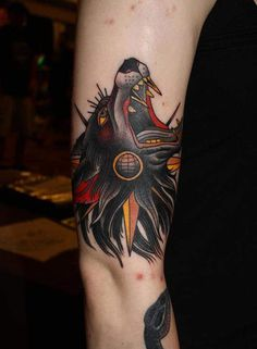 Tattoo done by Herb Auerbach.