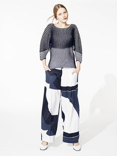 Issey Miyake pre-Spring 2015 - the top