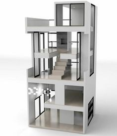 Modern Dollhouses From Brinca Dada For Grownup Kids