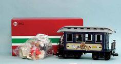 LGB G Gauge 39073 Steiff Teddy Roosevelt Collectors Edition Wagon