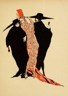 Alastair/Baron Hans Henning Voight (1887- 1969) - Carmen  (via t-iff)