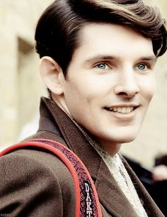 Ola's imaginary cast: Colin Morgan for Sadi, version 1 Because Cillian Murphy is, alas, too old.