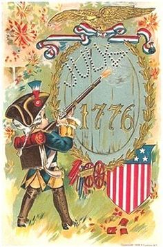 4th of july vintage cards | Pearl's Sentimental Journey: A Vintage 4th of July
