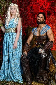 Me Leobane Cosplay as Khal Drogo from Game of Thrones  https://www.facebook.com/leobanec/