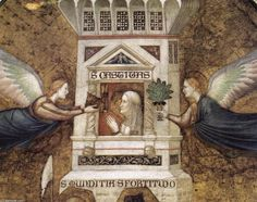 Photo of Basilica di San Francesco: Detail from Allegory of Chastity Fresco by Giotto in Lower Church Renaissance, Museum, Les Oeuvres, Painting & Drawing, History, Drawings, Artwork, Detail, San Francesco