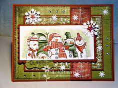 Very Merry by silli - Cards and Paper Crafts at Splitcoaststampers
