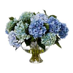 Hydrangea Mix in Glass Bowl ($485) ❤ liked on Polyvore featuring home, home decor, floral decor, hydrangea flower arrangement, artificial hydrangea arrangement, hydrangea arrangement, glass home decor and glass bowl