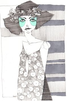 Fashion illustration.