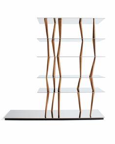 Sendai Bookshelf by Toyo Ito - The Paradox of Lightness and Fluidity - Nalata Nalata Sendai, Furniture Sale, Online Furniture, Furniture Design, Kitchen Furniture, Furniture Ideas, Toyo Ito, Conceptual Architecture, Shelving Systems