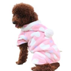 Pink Sweetie Dog Coat for Dog Clothes Dog Jumpsuit « Pet Lovers Ads