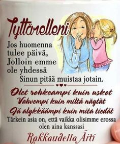 ❤ Cool Words, Wise Words, Finnish Language, Live Laugh Love, Good Parenting, How I Feel, Grief, Texts, Poems