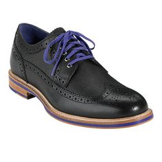 Lovely details--why don't they make these for women?  Cooper Square Wingtip - Men's Shoes: Colehaan.com