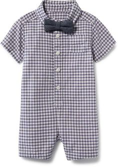 Shirt and Bowtie Onepiece