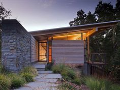 2013 AIA Housing Awards: One and Two Family Custom Residences- Halls Ridge Knoll Guest House in San Francisco, California; designed by Bohlin Cywinski Jackson