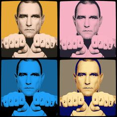 Vinnie Jones Pop Art 2