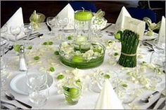 1000 images about mariage on pinterest flat twist updo zen and natural ha - Deco table ronde mariage ...