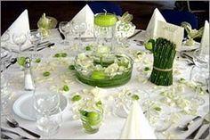 Christophe et Julie se marient! - Notre thème :nature et zen,le vert et le blanc.